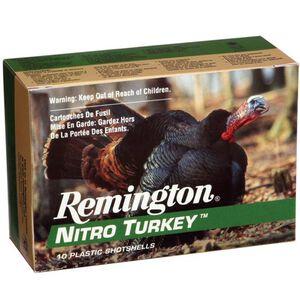 """Remington Nitro Turkey 12 Ga 3.5"""" #4 Lead 2oz 10 Rounds"""
