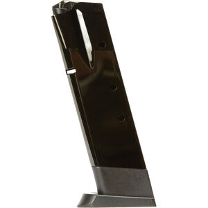 Magnum Research Baby Desert Eagle Full Size 9mm Luger 10 Round Magazine Steel Tube Polymer Base Plate Matte Black MAG910