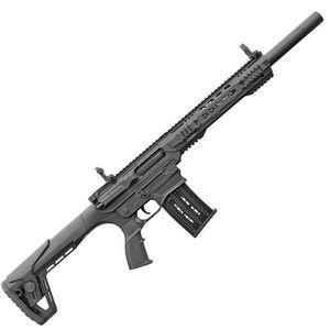 "Charles Daly AR-12T 12 Gauge AR Style Semi Auto Shotgun 18.5"" Barrel 5 Round Box Magazine Polymer Furniture Flat Top/Flip Up Sights Fixed Stock Black Finish"