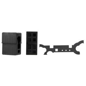 TacFire AR-15 Armorers Essential Tool Set Black