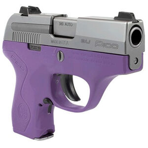 Beretta Pico Factory Replacement Grip Frame/Housing Polymer Lavender