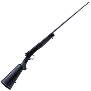 "Rossi Single Shot Break Action Shotgun .410 Bore 3"" Chamber 28"" Barrel 1 Round Capacity Spurred Hammer Brass Bead Sight Synthetic Stock Matte Black"