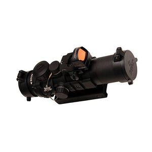 Burris AR-332/FastFire III AR-15 Combo Fixed 3x32mm Prism Sight Ballistic CQ Reticle CR2032 Battery .50 MOA Adjustments Aluminum Housing Matte Black Finish