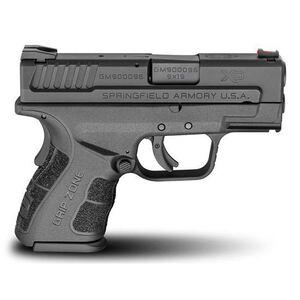 "Springfield Armory XD Mod.2 Sub-Compact 9mm Semi Auto Pistol 3"" Barrel 16 Rounds Polymer Frame Matte Black"