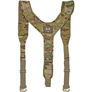 Grey Ghost Gear UGF Three Point Suspender Harness Laminate MultiCam
