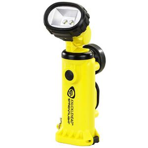 Streamlight Knucklehead C4 LED Flashlight 200 Lumen 4 Function Alkaline Battery High Impact Polymer Yellow 90642