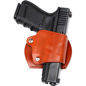 JBP Leather Yaqui Belt Slide Holster for GLOCK, M&P and XD