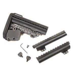 VLTOR AR-15 EMOD Enhanced Modstock Commercial Black Battery Storage and Butt Pad
