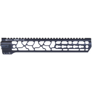 "ODIN Works AR-15 12.5"" KeyMod Ragna Free Float Forend Black Finish"