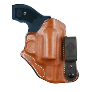 Desantis Pop-Up Sig Sauer P238 Inside The Waistband Holster Left Hand Leather Tan