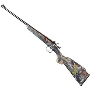 "Keystone Arms Crickett Gen 2 Bolt Action Rifle 22 LR 16.5"" Barrel 1 Round Synthetic Stock Mossy Oak Break Up/Blued"