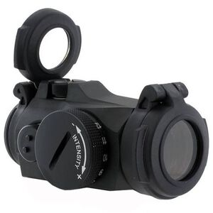 Aimpoint Micro H-2 Red Dot Sight 2 MOA Dot No Mount Cardboard Box Black 200186