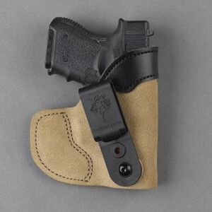 DeSantis Pocket-Tuk IWB/Pocket Holster Medium .380 Autos Right Hand Leather Natural 111NA75Z0