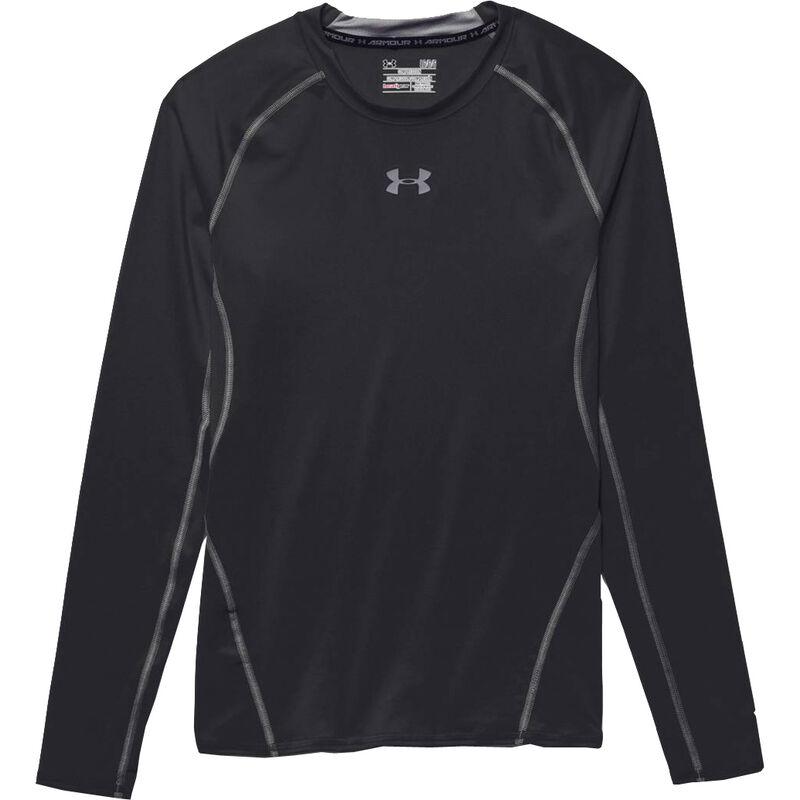 Under Armour Performance Men's HeatGear Long Sleeve Compression Shirt Small Black 1257471001SM
