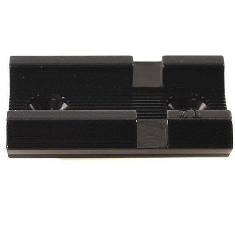 Weaver Detachable Top Mount Base Interarms Mini-Mark X Standard Front Mount Black 48010
