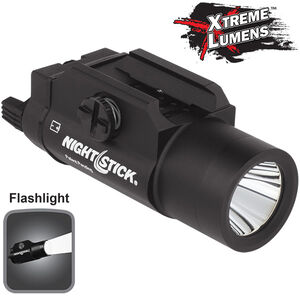 NightStick TWM-850XL Tactical Weapon Mounted Light 850 Lumens CREE LED White Light CR123 Batteries Matte Black