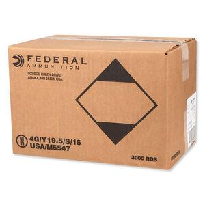 Federal V-Shok .17 HMR Ammunition 3,000 Rounds Polymer Tipped V-Max 17 Grain 2,530 Feet Per Second