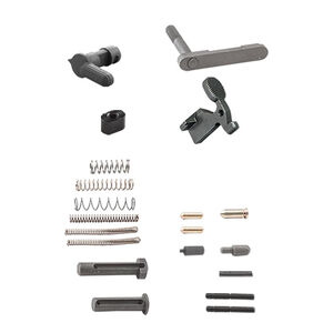 Luth-AR AR-15 Builders Kit Lower Receiver Parts Kit Matte Black