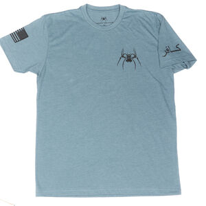 Spike's Tactical Waterboarding instructor Men's Short Sleeve T-Shirt Large Indigo