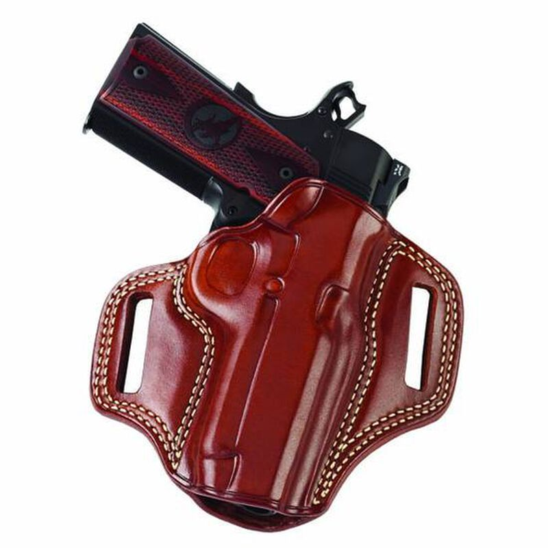 Galco Combat Master GLOCK 43 Belt Holster Leather Right Hand Tan CM800