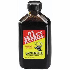 Wildlife Research #1 Select Estrus Deer Attractant 4 oz Bottle 401-4
