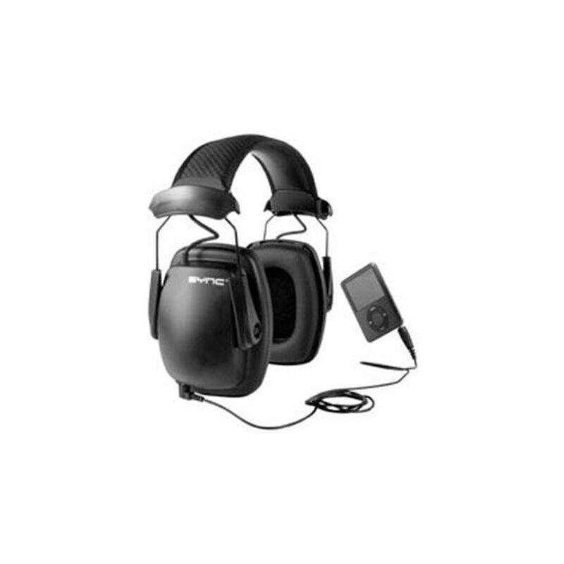 Howard Leight Sync Stereo Passive Earmuffs 3.5 Millimeter Black 1030110