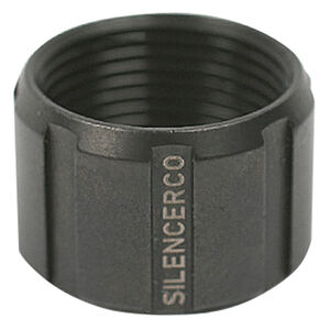 SilencerCo Threaded Barrel Thread Protector 1/2x28 Thread Pitch Stainless Steel Matte Black