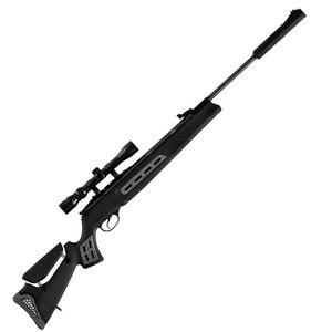 Hatsan Model 125 Sniper Vortex .25 Caliber 750fps Break Barrel Air Gun Synthetic Stock With Scope