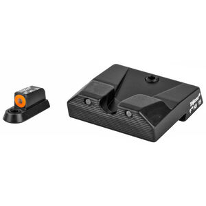 Trijicon HD-XR Night Sight Set fits CZ P10/P10C Green Tritium Orange Outline Steel Housing Matte Black Finish