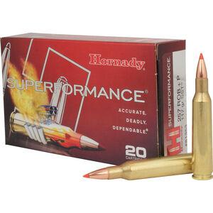 Hornady Superformance .257 Roberts +P Ammunition 20 Rounds SST 117 Grains 81353