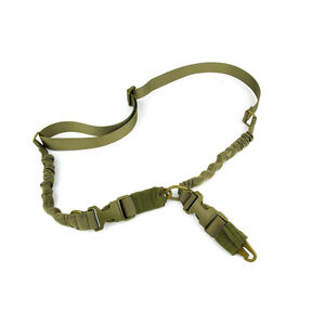 TacFire Double/Single Point Double Bungee Rifle Sling HK Style Tan SL003T