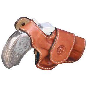 Bond Arms Driving Holster Snakeslayer IV Right Hand Thumb Break Leather Tan 7-BADSSIV
