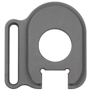 Midwest Industries Remington 870 End Plate Adapter Left Slot Aluminum Black