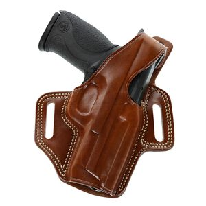 Galco Fletch High Ride Belt Holster Colt Government 1911 Right Hand Leather Tan