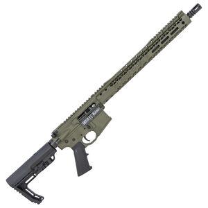 "Black Rain Ordnance AR15 5.56 NATO Semi-Auto Rifle 16"" Barrel 30 Rounds Flat Top Optics Ready Synthetic Stock OD Green Finish"