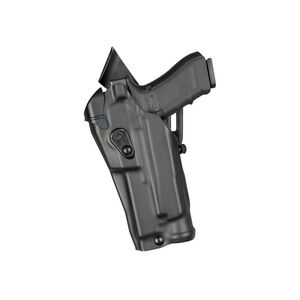 Safariland 6390 RDS ALS Mid-Ride Duty Belt Holster Fits GLOCK 17 MOS with Optic and Light STX Plain Black