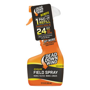 Dead Down Wind Field Spray Pac-It Combo 24oz Unscented