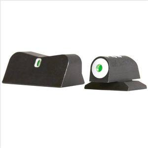 XS Sights DXT Big Dot Night Sights S&W Bodyguard 380 Green Tritium Front/Rear Matte Black