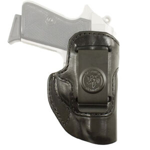 DeSantis Inside Heat Walther PPK/PPK/S IWB Holster Right Hand Leather Black