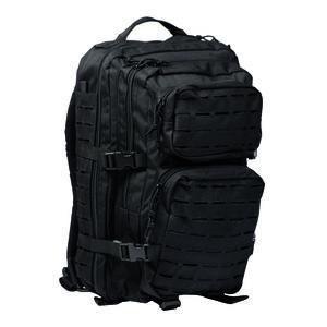 Mil-Tec Large Laser-Cut Assault Pack Black 14002702