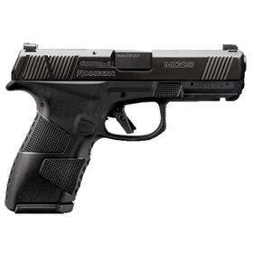 "Mossberg MC2c 9mm Luger Compact Semi Auto Pistol 3.9"" Barrel 13 Rounds TruGlo Tritium Pro Sights Black Polymer Frame/Black DLC Slide Finish"