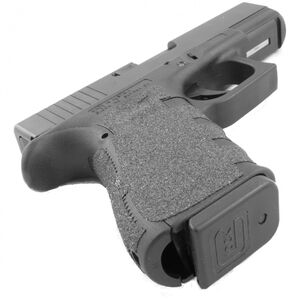 TALON Grips GLOCK Gen4 Compact Models 19/ 23/ 25/ 32/ 38 with Large Backstrap Rubber Adhesive Grip Black