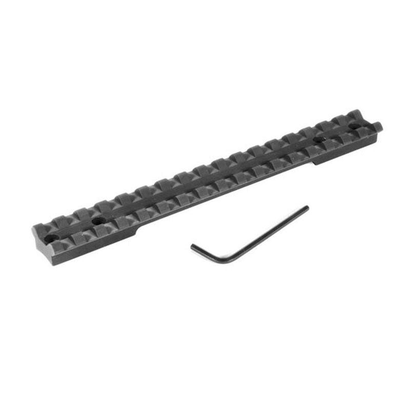 EGW Savage 220 Slug Gun One Piece Picatinny Scope Mount Aluminum Matte Black 41101