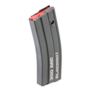 Ruger SR-556 Takedown/AR-15 Factory OEM 30 Round Magazine .300 AAC Blackout Steel Construction Black Finish