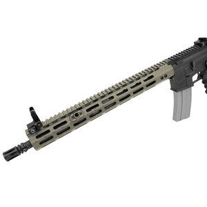 "Leapers UTG PRO AR-15 15"" M-LOK Handguard Super Slim Free Float Rail Aluminum Cerakote Flat Dark Earth MTU019SSMD"
