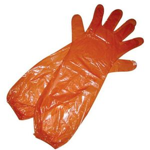 HME Products Game Cleaning Gloves, 1 Pair, Orange, SGCG