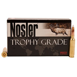 Nosler 6.5 Creedmoor Ammunition 20 Rounds AccuBond 140 Grains