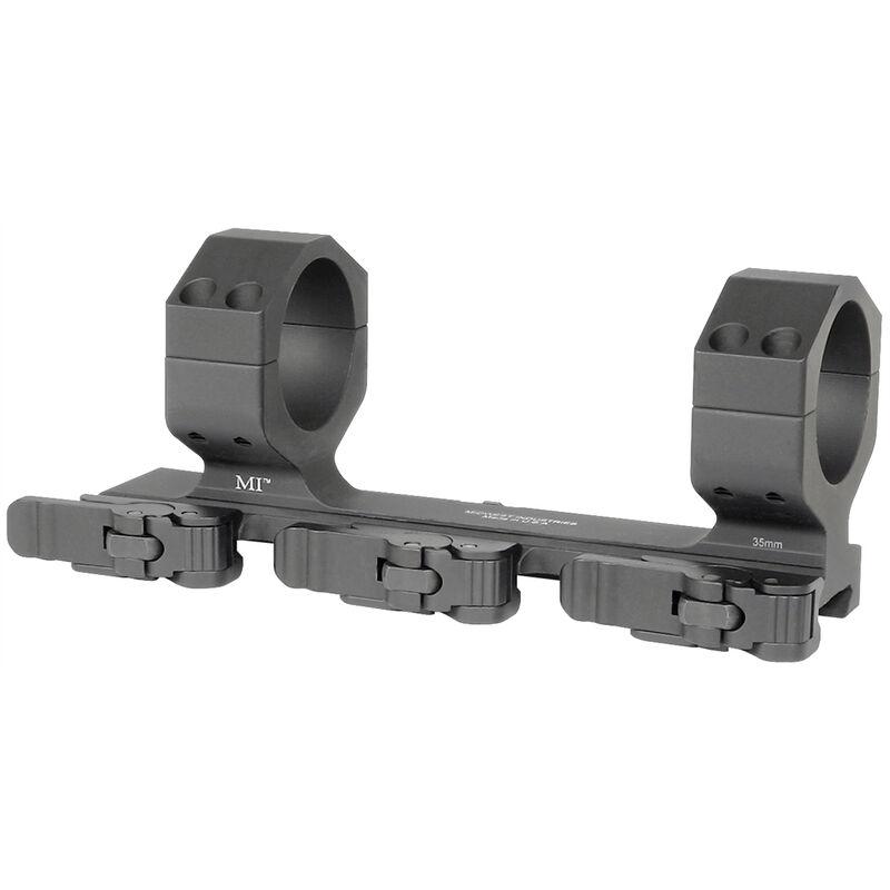 Midwest Industries QD Extreme 35mm Cantilever Offset Scope Mount Black MI-QD35XDSM