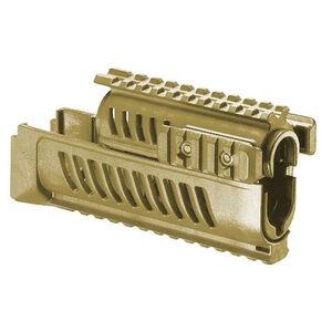 FAB Defense AK-47 Quad Rail Polymer Handguard Polymer FDE