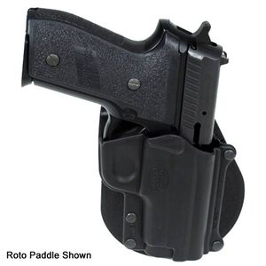 Fobus Holster SIG P229/S&W M&P Shield/Steyr Model M Right Hand Roto-Belt Attachment Polymer Black